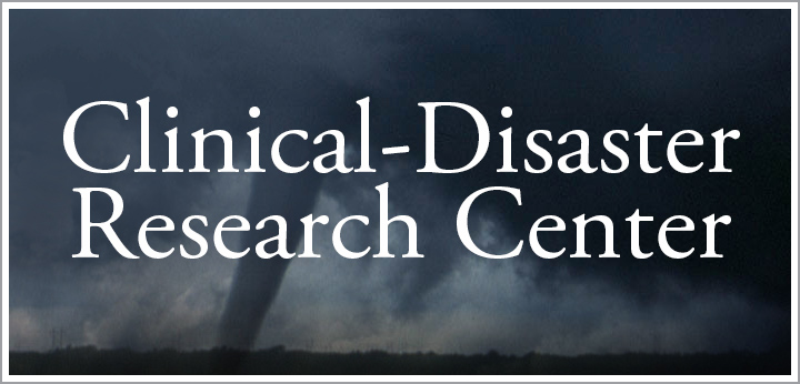button for Clinical-Disaster Research Center